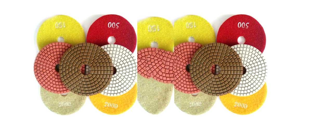 Polishing pads for epoxy resin