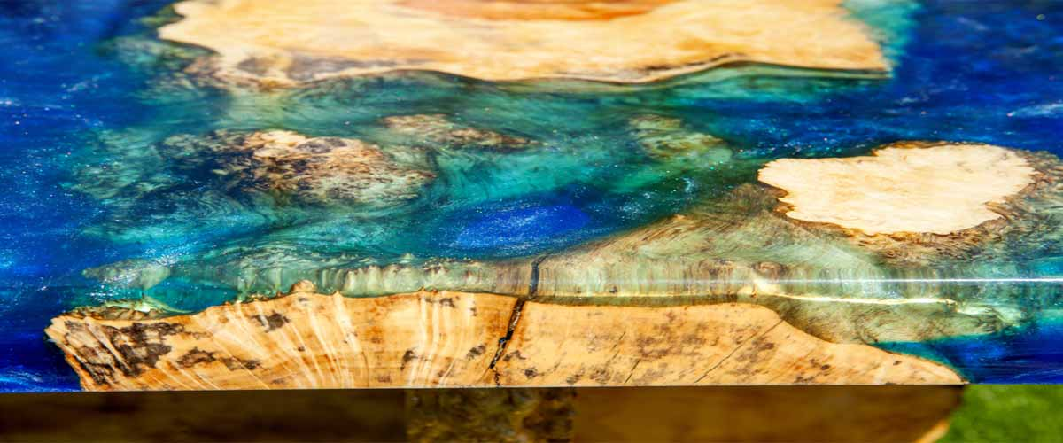 clear epoxy resin for table tops