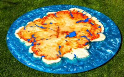 The 5 Best Blue Epoxy Resin Table Top Reviews of All Time