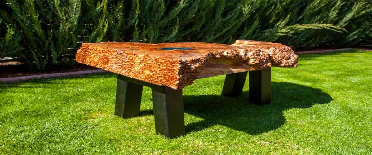 Brick Epoxy Resin Table