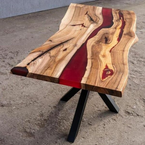 Epoxy Resin Dining and Coffee Table