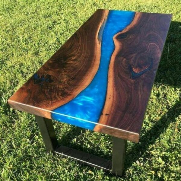 Luxury Epoxy Resin Dining and Coffee Table