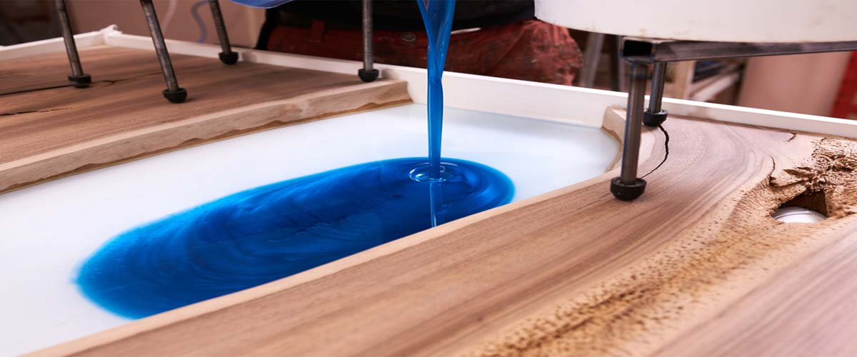 Midnight Blue Epoxy Resin Table