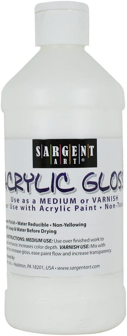 Sargent Art Acrylic Gloss and Varnish